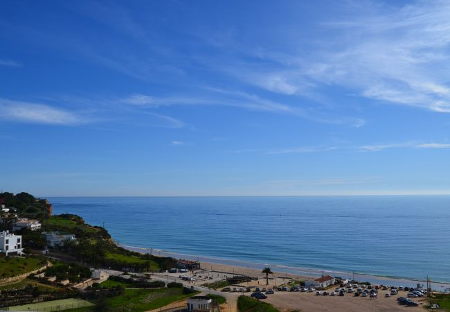in Lagos - Beach Apartment | 6 Min walk to Praia Porto de Mos | Luxury interiors | Pool