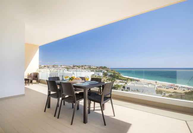 in Lagos - 5* Beach View Apartment in Porto de Mos 150 metres from the beach!
